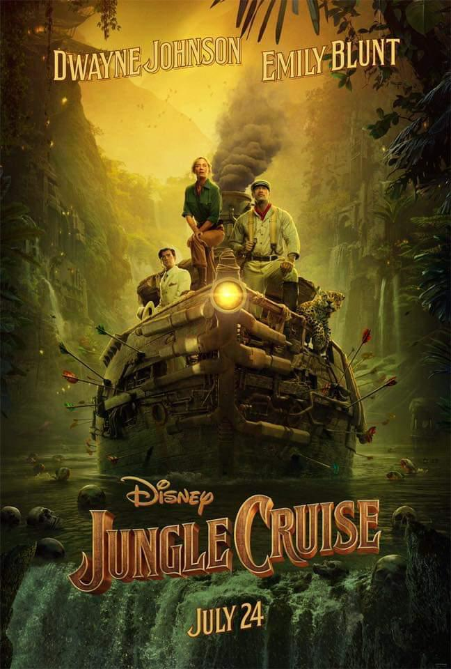 Dwayne Johnson's Film Jungle Cruise Release In India In July 2020, Poster And Trailer Release 1