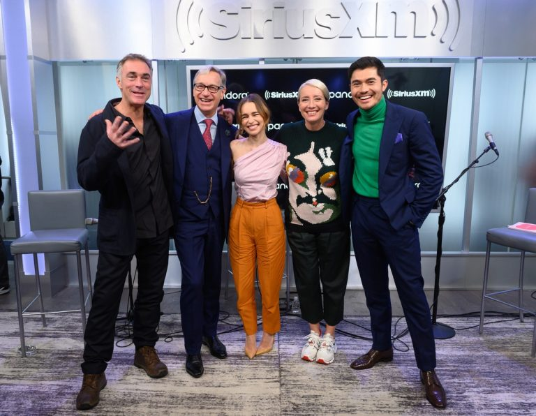 Emilia Clarke attends SiriusXM Town Hall with 'Last Christmas' cast in New York City 2019/10/29 1