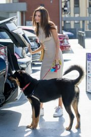 Emily Ratajkowski with Her husband and Pets Out in Los Angeles 2019/10/30 9