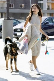 Emily Ratajkowski with Her husband and Pets Out in Los Angeles 2019/10/30 17