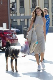 Emily Ratajkowski with Her husband and Pets Out in Los Angeles 2019/10/30 23