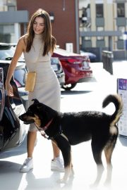 Emily Ratajkowski with Her husband and Pets Out in Los Angeles 2019/10/30 26