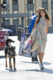 Emily Ratajkowski with Her husband and Pets Out in Los Angeles 2019/10/30 30