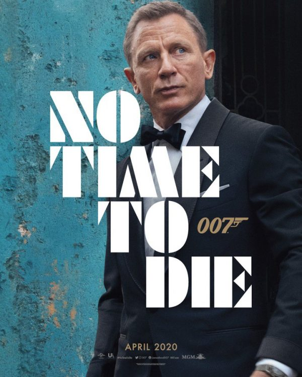 First poster of film 'No Time To Die' released, Daniel Craig returns as James Bond 007 1