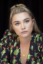 Florence Pugh at Little Women Press Conference in Los Angeles 2019/10/28 1