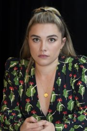 Florence Pugh at Little Women Press Conference in Los Angeles 2019/10/28 5