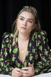 Florence Pugh at Little Women Press Conference in Los Angeles 2019/10/28 9