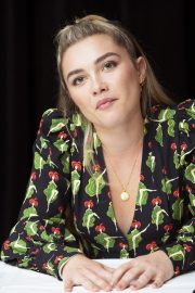 Florence Pugh at Little Women Press Conference in Los Angeles 2019/10/28 12