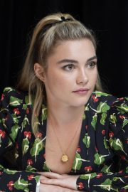 Florence Pugh at Little Women Press Conference in Los Angeles 2019/10/28 13