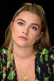 Florence Pugh at Little Women Press Conference in Los Angeles 2019/10/28 16