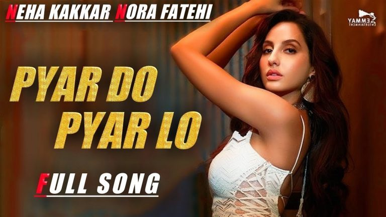 Marjaavaan: 'Pyaar Do Pyaar Lo' Video Song Out, Track Features Nora Fatehi 2