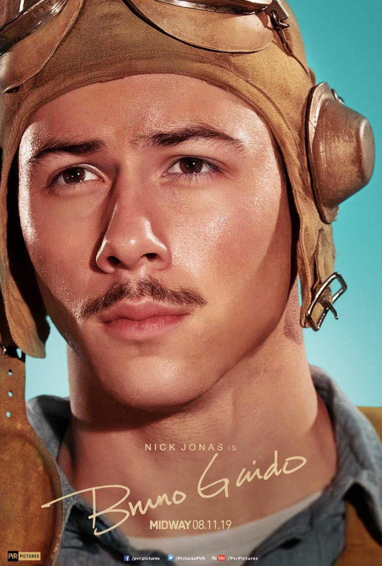Midway film poster featuring Nick Jonas as Bruno P. Gaido 1