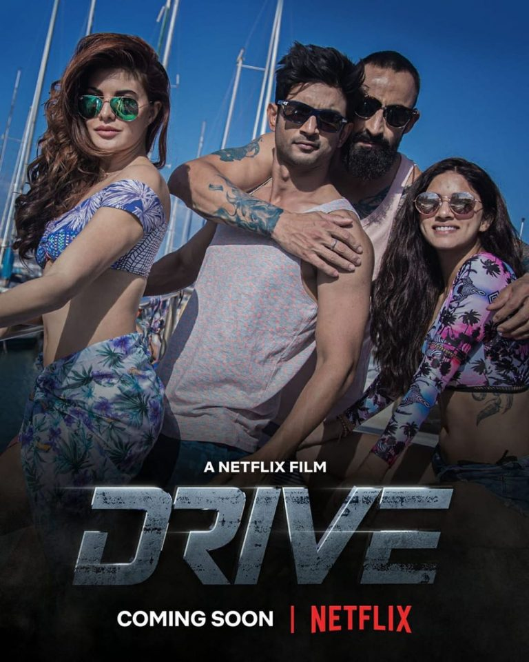 Netflix Film Drive: Sushant and Jacqueline in the new poster of the film, will be release in November 1
