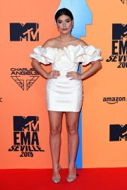 Aida Domenech attends MTV Europe Music Awards at the FIBES Conference and Exhibition Centre of Seville 2019/11/03 1
