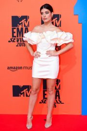 Aida Domenech attends MTV Europe Music Awards at the FIBES Conference and Exhibition Centre of Seville 2019/11/03 4