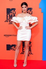 Aida Domenech attends MTV Europe Music Awards at the FIBES Conference and Exhibition Centre of Seville 2019/11/03 5