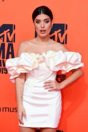 Aida Domenech attends MTV Europe Music Awards at the FIBES Conference and Exhibition Centre of Seville 2019/11/03 6
