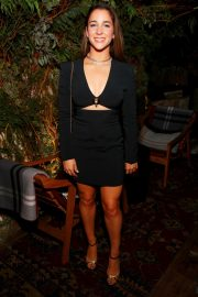 Aly Raisman Celebrates David Koma's 10th Anniversary in New York 2019/10/30 1