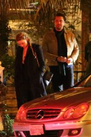 Amber Heard and Andy Muschietti have a romantic dinner at the San Vicente Bungalows in West Hollywood 2019/10/27 2