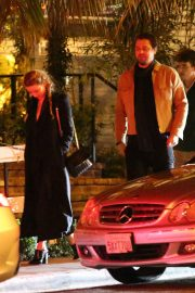 Amber Heard and Andy Muschietti have a romantic dinner at the San Vicente Bungalows in West Hollywood 2019/10/27 3