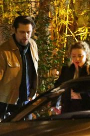 Amber Heard and Andy Muschietti have a romantic dinner at the San Vicente Bungalows in West Hollywood 2019/10/27 5