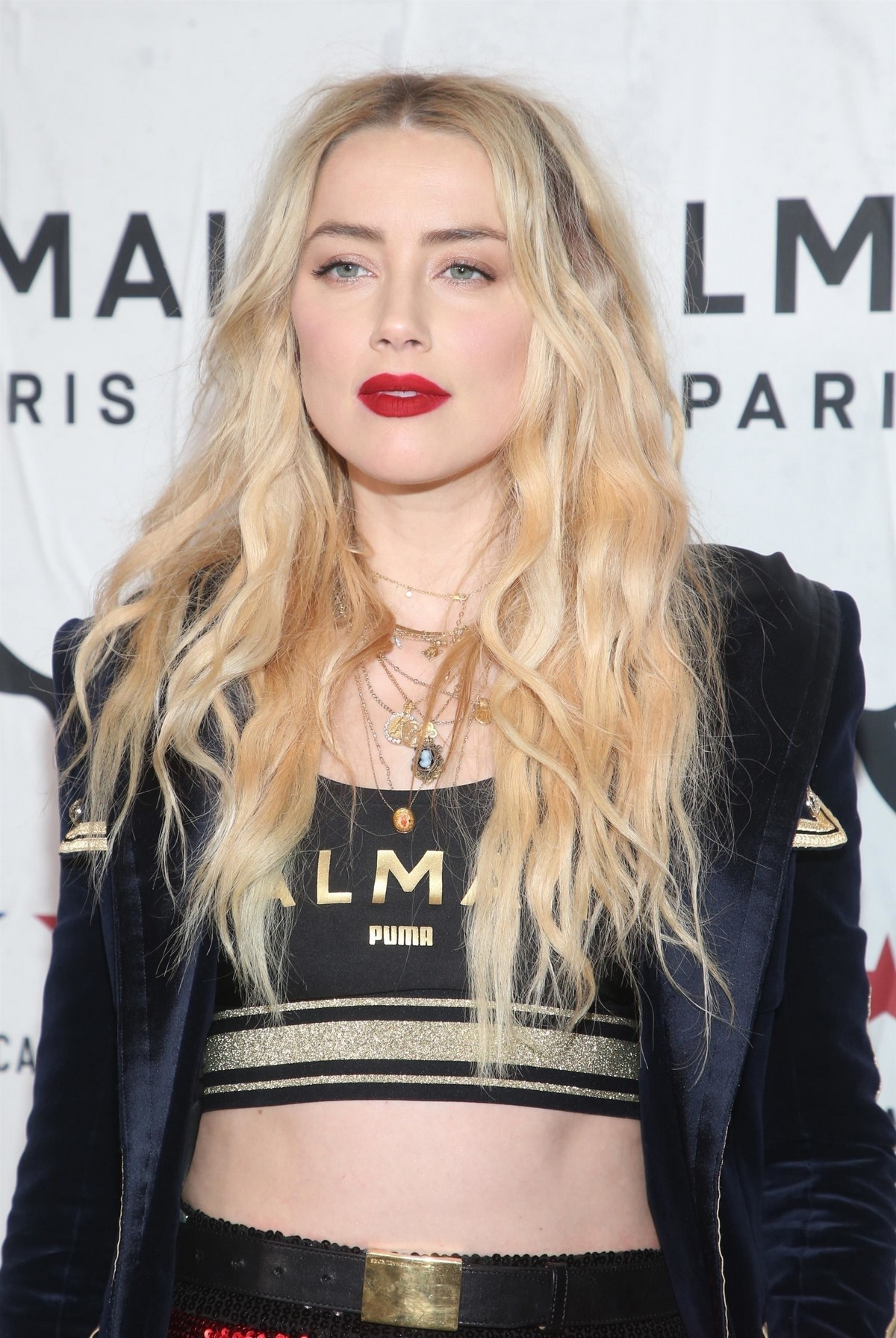 Amber Heard attends PUMA x Balmain Launch Event in Los Angeles 2019/11/21 3