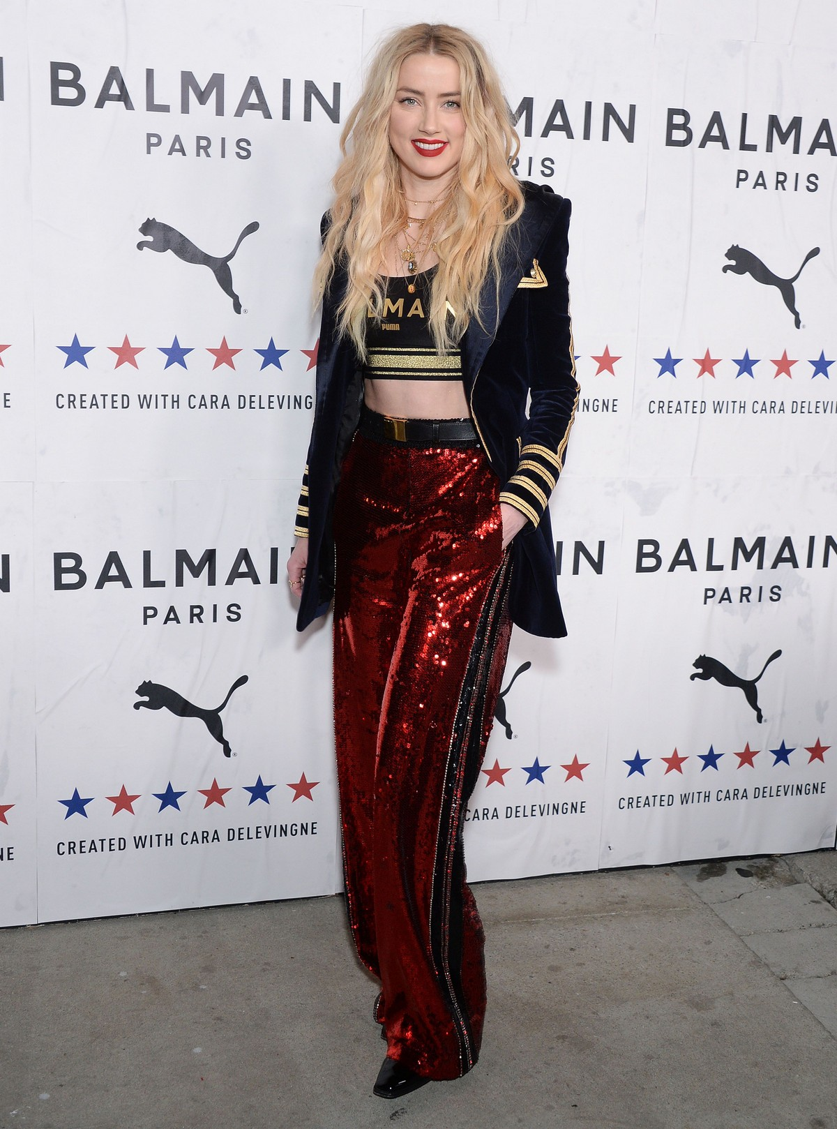 Amber Heard attends PUMA x Balmain Launch Event in Los Angeles 2019/11/21 6