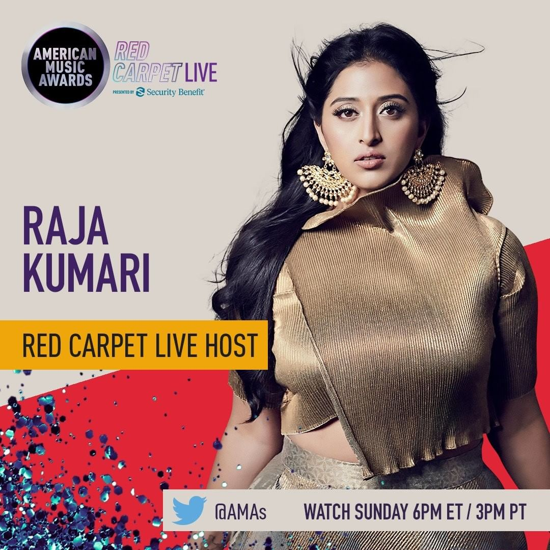 American Music Awards / Rapper Raja Kumari becomes the first Indian to host the show, to be held in Los Angeles 1