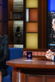Andrea Savage attends The Late Show with Stephen Colbert 2019/10/23 1