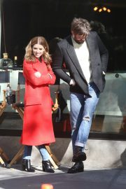 Anna Kendrick and Nick Thune on the set of 'Love Life' in New York 2019/11/01 8