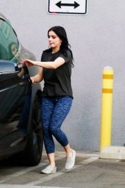 Ariel Winter seen with her dogs at a salon in Los Angeles 2019/11/04 19