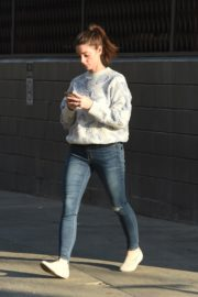 Ashley Greene in Sweatshirt and Ripped Jeans Out in Los Angeles 2019/11/22 4