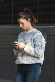 Ashley Greene in Sweatshirt and Ripped Jeans Out in Los Angeles 2019/11/22 5