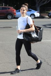 Ashley Greene in white top and tights Out in West Hollywood 2019/11/05 3