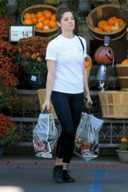 Ashley Greene in white top and tights Out in West Hollywood 2019/11/05 4