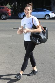 Ashley Greene in white top and tights Out in West Hollywood 2019/11/05 9