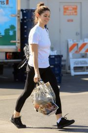 Ashley Greene in white top and tights Out in West Hollywood 2019/11/05 12