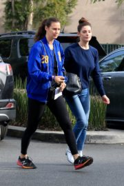Ashley Greene with a friend goes shopping for groceries in Beverly Hills 2019/11/26 6