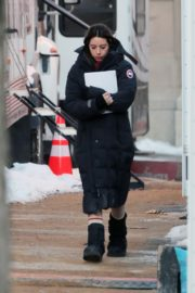 Aubrey Plaza on the set of 'Best Sellers' in Montreal, Canada 2019/11/26 3