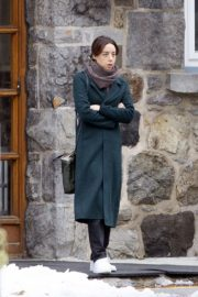 Aubrey Plaza on the set of 'Best Sellers' in Montreal, Canada 2019/11/26 4