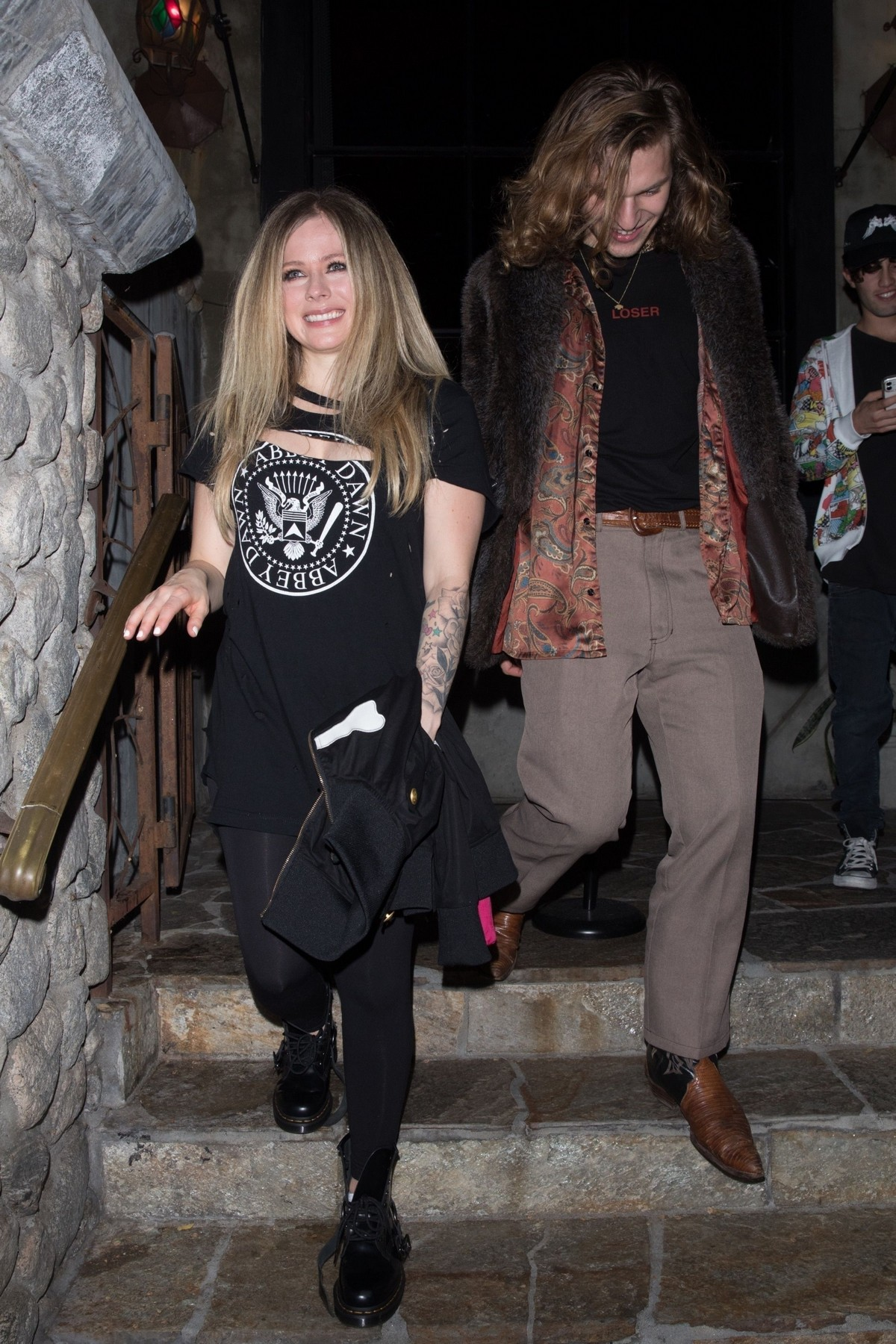 Avril Lavigne and G-Eazy Party at Birthday Bash of G-Eazy's at Boheme in West Hollywood 2019/11/20 8