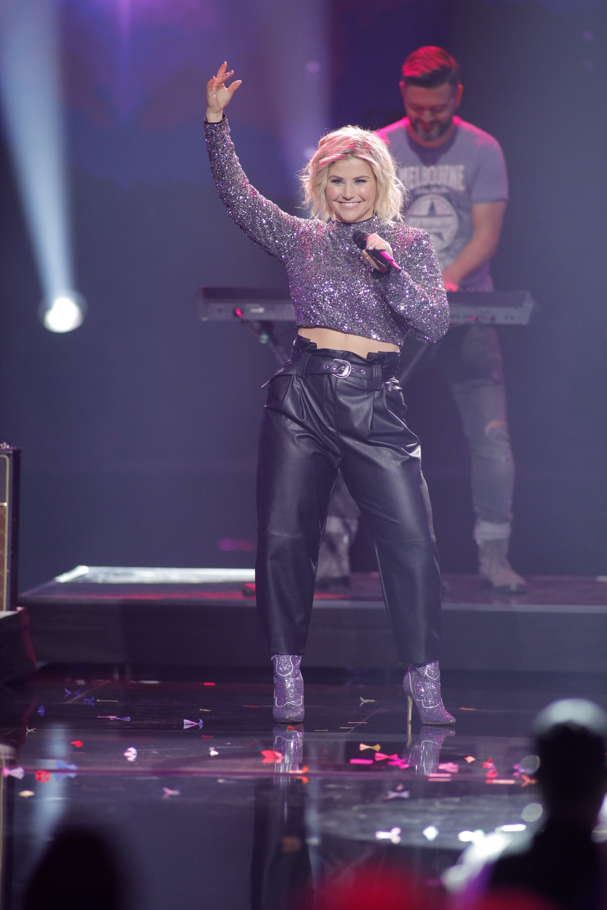 Beatrice Egli performs at Silvestershow 2019: Die Silvestershow mit Jorg Pilawa, 2019/11/15 9