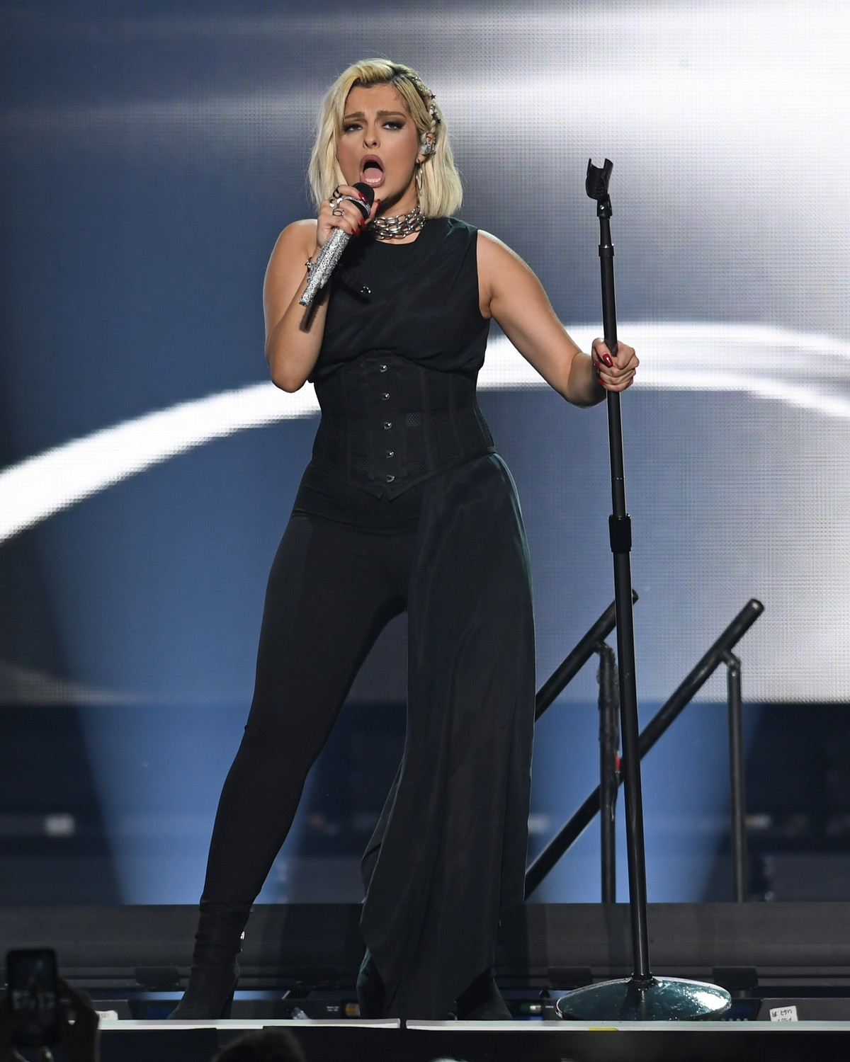 Bebe Rexha performs at the BB&T Center in Sunrise 2019/11/15 15