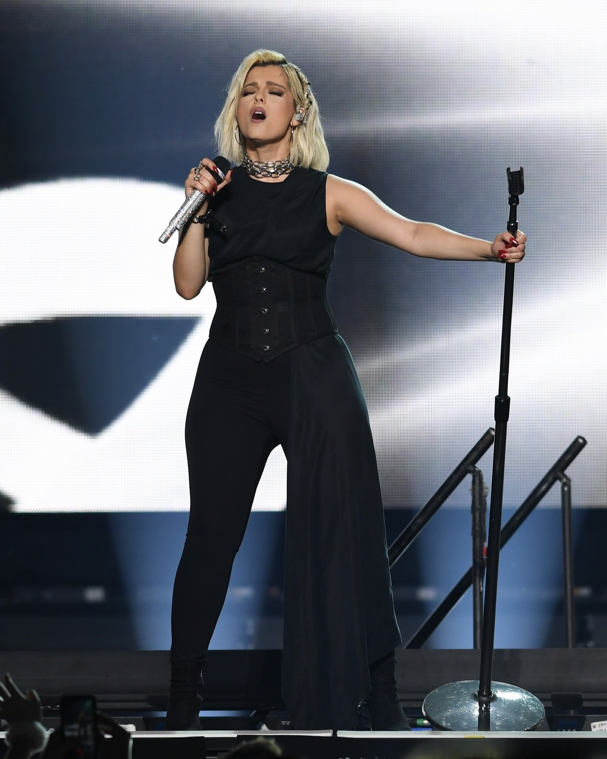 Bebe Rexha performs at the BB&T Center in Sunrise 2019/11/15 17