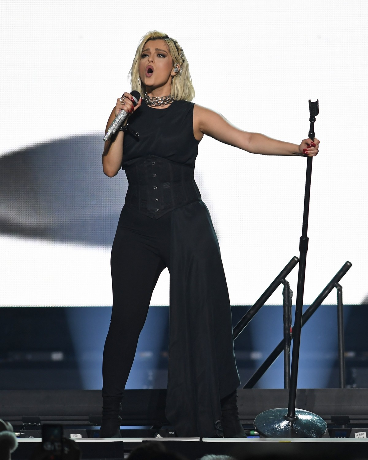 Bebe Rexha performs at the BB&T Center in Sunrise 2019/11/15 18