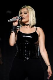 "Bebe Rexha Performs During Jonas Brothers ""Happiness Begins"" Tour at Prudential Center in Newark 2019/11/22 8"