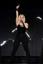 """Bebe Rexha Performs During Jonas Brothers """"Happiness Begins"""" Tour at Prudential Center in Newark 2019/11/22 10"""