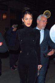 Bella Hadid and Alexander Wang arrives Cipriani in New York City 2019/11/04 2