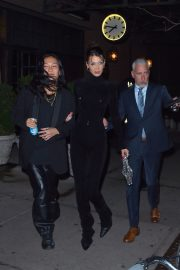Bella Hadid and Alexander Wang arrives Cipriani in New York City 2019/11/04 3