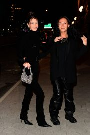 Bella Hadid and Alexander Wang arrives Cipriani in New York City 2019/11/04 5
